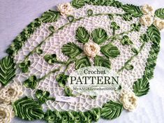 Pattern Crochet doily lacy Oval tablecloth Floral doily book pdf Rug with flower Table centerpiece Textured modern crochet tutorial Crochet Doilies, Crochet Flowers, Crochet Lace, Crochet Stitches, Crochet Hooks, Doily Patterns, Crochet Patterns, Round Table Centerpieces, Oval Tablecloth