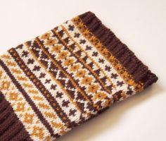 SewSew Knitted Fingerless Gloves