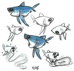 Porbeagle Shark by *Polarkeet on deviantART