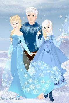 Jelsa - Jack, Elsa and Lora Frost by LunaTsukino ~ Disney Dress Up