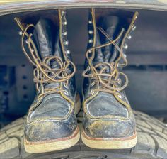 Denim Boots, Red Wing Shoes, Cool Boots, Fire Trucks, Winter, Instagram, Fashion, Winter Time, Moda