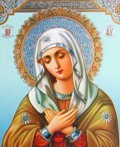 БОГОРОДИЦА УМИЛЕНИЕ - икона является заступленицей как в общенародных бедствиях, так и в жизни простых людей. Матери молятся о благополучном замужестве дочерей, о счастье и достатке.