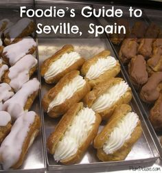 Foodie's Guide to Seville, Spain by Nick Dorrington #Spain #foodie #tapas