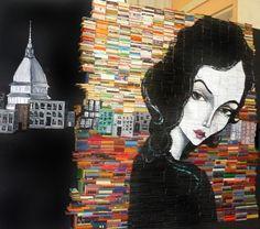 Esto es un muro de libros, y no lo que tiene en Facebook alguna editorial.