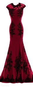 Sunvary Chiffon & Appliques Mermaid Formal Gown