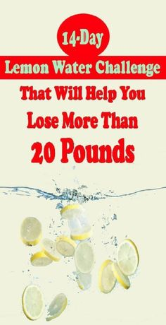 14-Day Lemon Water Challenge That Will Help You Lose Weight