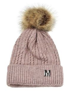 SHARE & Get it FREE | Letter M Embellished Velvet Knitted Beanie - PinkFor Fashion Lovers only:80,000+ Items • New Arrivals Daily Join Zaful: Get YOUR $50 NOW!
