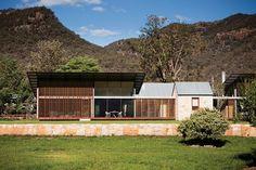 "Australian Architecture. ""contemporary architectural interpretation of the Australian colonial idyll"". Modern farmhouse.   Virginia Kerridge Architect."