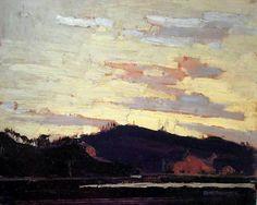 1916 Yellow Sunset #tt1916