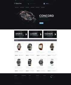 Watches Responsive OpenCart Template #54691 http://www.templatemonster.com/opencart-templates/54691.html