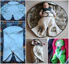 Newborn Envelope Blanket!