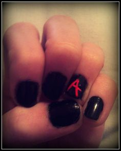 Pretty Little Liars Inspired Nails.