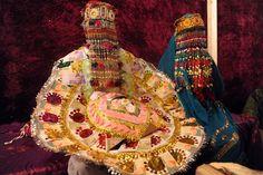 A Pakistani Hindu bride and groom