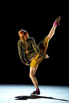 Sylvie Guillem, love the colours