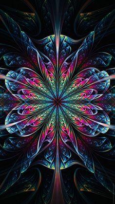 37 Super Ideas For Mandala Art Wallpaper Iphone Fractal Images, Fractal Art, Wallpaper Original, Composition Photo, Art Visionnaire, Psy Art, Fractal Design, Illusion Art, Visionary Art