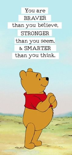 Autor A. Milne hat unendlich viele inspirierende Sprüche in Winnie the P . - - Autor A. Milne hat unendlich viele inspirierende Sprüche in Winnie the P … … Disney Author A. Milne has infinite inspirational sayings in Winnie the P … – Cute Quotes, Best Quotes, Cute Sayings, Sad Quotes, Wisdom Sayings, Sayings For Kids, Nice Quotes For Friends, Your Amazing Quotes, Be Nice Quotes