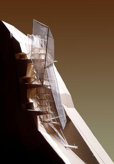 Maquette Architecture, Concept Models Architecture, Architecture Model Making, Architecture Sketchbook, Futuristic Architecture, Architecture Plan, Architecture Details, Landscape Architecture, Machu Picchu Hotel
