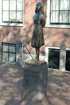 I think it is really great that we have Anne Frank memorials today. These memorials remind us of how many innocent lives where taken during the Holocaust. It is quite sad to think of what a terrific person Anne could have grown up to be.