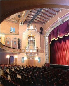 Jefferson Theatre - Beaumont, Texas. The Jefferson Theatre was named Texas' Best Restoration in 2004 by the Texas Downtown Association. #architecture