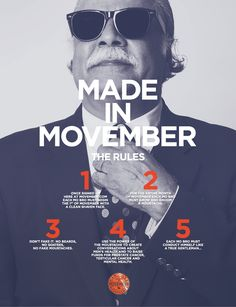 Movember Rules/guidelines - Get Involved!!! #movember