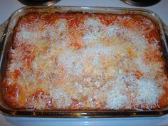 Healthy Baked Spaghetti!!