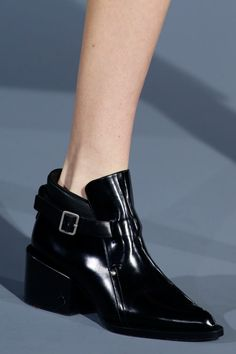 My favourite shoe from Milan - Jil Sander boots.