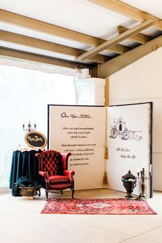 Storybook themed event - love this as a Photo Booth backdrop