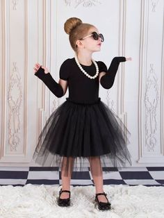 Girls Breakfast at Tiffany's - Hollywood Glam Tutu Halloween Costume Hollywood Theme Party Outfit, Hollywood Costume, Hollywood Dress, Hollywood Party, Halloween Tutu Dress, Halloween Costumes For Girls, Girl Costumes, Pink Costume, Kids Costumes Girls