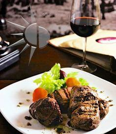 """"""" Mixto Angus """" [ Mixto di Carne Argentina ( filetto, controfiletto, entrecote, scamone ) alla Griglia +500gr. ] at Baires Ristorante Argentino - Rome, Italy - www.baires.it"""