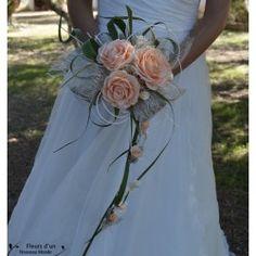 Bouquets de mariée cascade - Fleurs d'un Nouveau Monde