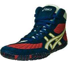 New Aggressors are here. Be the first to wear them.  $104.98  http://www.wrestlinggear.com/wrestling-shoes/asics/1717-aggressor-wrestling-shoes/