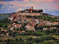Medieval Town Motovun - Montona, Croatia.