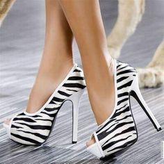 Very Cool Zebra heels!