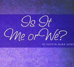 Free Marriage Booklet - Is it me or we
