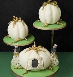 Pumpkins Novelty design wedding cake  Lol especially for our 'Cinderella' inside joke ;)
