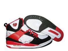 Air Jordan 3 High Chaussures - Black White Red