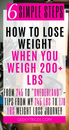 How to simply lose weight if you weigh 200 lbs or more – GeekyTricee loss tips Weight Loss Meals, Losing Weight Tips, Diet Plans To Lose Weight, Fast Weight Loss, Weight Loss Program, Healthy Weight Loss, Weight Gain, How To Lose Weight Fast, Lost Weight