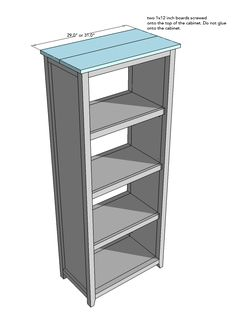 How to Build a Storage Cabinet in 9 Steps — Simply Handmade Studios – Diy Möbel Woodworking Furniture, Furniture Plans, Woodworking Plans, Diy Furniture, Woodworking Projects, Farmhouse Furniture, Repurposed Furniture, Woodworking Shop, Bookcase Plans
