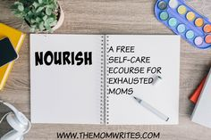 Free Self-Care eCourse for Exhausted Moms  Prerna at The Mom Writes is offering a free self-care eCourse for exhausted moms. This is an easy-to-do, bite-sized 14-day course that will fill you with energy, enthusiasm, and excitement to face each day and live it to the fullest.