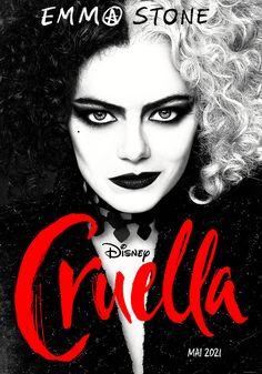 Cruella - film 2021 - AlloCiné Emma Thompson, Disney Pixar, Disney Villains, Disney Movies, Disney Live, Disney Rapunzel, Emma Stone, Studio Disney, Walt Disney Studios