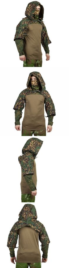 Ghillie Suits 177870: Disguise Sniper Coat Viper Hood Russian Spetsnaz Ripstop Partizan Ss-Summer -> BUY IT NOW ONLY: $112.9 on eBay!
