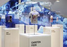 Bogner 3D miniature models installation by Kemmler Kemmler & Dirk Bonn, Munich