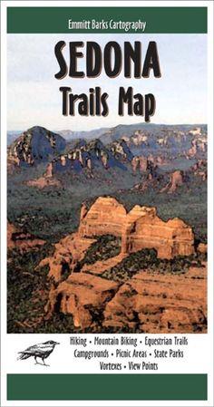 Sedona, Arizona, Trails Map by Emmitt Barks Cartography