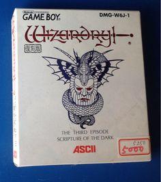 GBゲームボーイソフト!ウィザードリー未使用品!