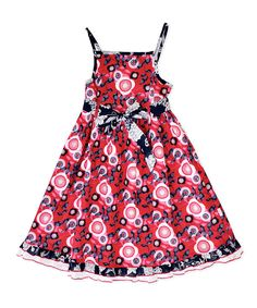 Take a look at this Red Lille Dress - Infant & Toddler on zulily today!