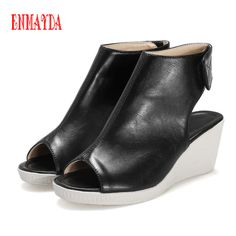 Cheap shoes with spring heels, Buy Quality shoes kobe directly from China pumps sandals Suppliers: ENMAYDA 2016 Shoes Women Pumps Patent Leather Square Heel Round Toe Casual Buckle Strap Fashion Date Plain Synthetic Sho