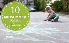10 Midsummer Outdoor Activities