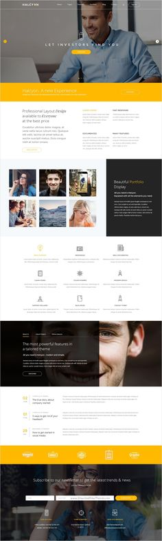 Halcyon is beautifully design premium #PSD template for stunning #corporate #website with 30+ multipurpose homepage layouts and 52 organized PSD pages download now➩ https://themeforest.net/item/halcyon-multipurpose-modern-website-psd-template/17535264?ref=Datasata