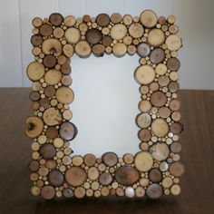 Rustic Picture Frame Tramp Art Twig Picture by WolfLakeCreations, $120.00