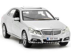 MAISTO 1:18 MERCEDES BENZ E-CLASS NEW DIECAST MODEL CAR SILVER #Maisto #MercedesBenz